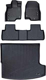 MAXLINER Custom Fit Floor Mats 2 Rows and Cargo Liner Trunk Set Black for 2019 Acura RDX All Models