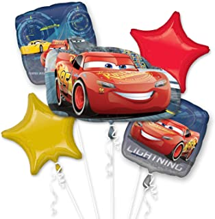 Amscan 3536701 Cars Bouquet Lightning McQueen Balloon