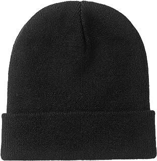 Sponsored Ad - clubone Beanie Men Women - Unisex Black Knitted Beanie Cuffed Knit Skull Cap Winter Warm Knit Cap, Daily Be...