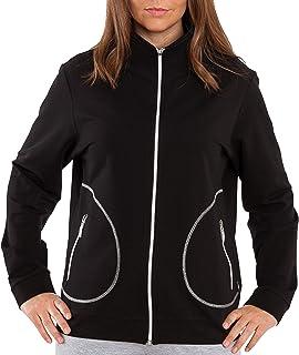Authentic Klein Chaqueta deportiva y de ocio para mujer con bolsillos con cremallera, compañero ideal en el deporte y el t...