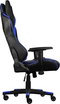 Aerocool AC220BB - Silla gaming profesional, ergonómica, ruedas 60mm, regulable