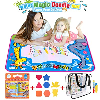 BBLIKE Magic Water Drawing Mat,Large Doodle Toy...