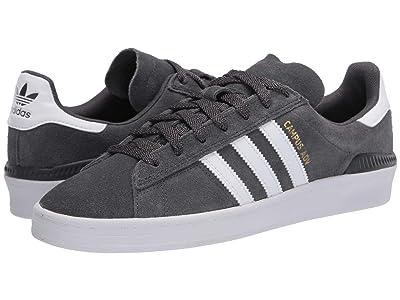 adidas Skateboarding Campus ADV (Grey Six/Footwear White/Gold Metallic) Skate Shoes