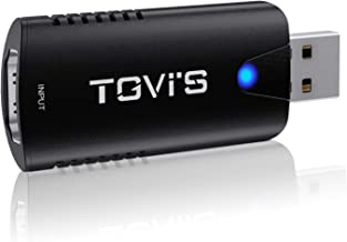 TGVi's Capture Cards,HDMI to USB,Video Capture Card HD 1080P,via DSLR Camcorder Action Cam for High Definition Acquisition...
