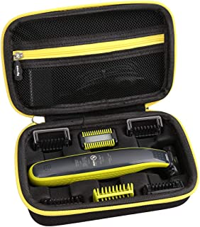 Aproca Hard Travel Carry Case for Philips Norelco OneBlade Face + Body hybrid electric trimmer and shaver QP2630/70 QP2630...