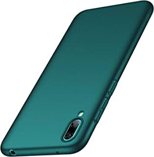 Anccer Compatible for Huawei Y7 Pro 2019 Case [Colorful Series] [Ultra Thin Fit] Hard Slim Cover for Huawei Y7 Pro 2019 (Gravel Green)