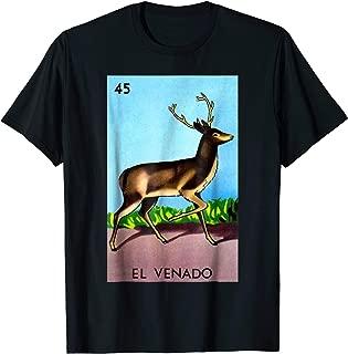 Mexican Loteria Tshirts - El Venado T Shirt