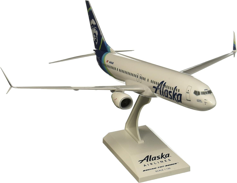 SkyMarks SKR875 - Alaska Airlines - Boeing 737-800 - 1 130 B01IO3KTPU Elegant  | Bekannt für seine schöne Qualität