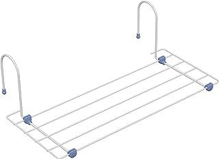 Gimi Lampo Tendedero de radiador de Acero, 2,5 m de Longitud de tendido