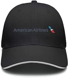 Ruslin American Airlines Women Men Trucker Hat Adjustable Street Dancing caps