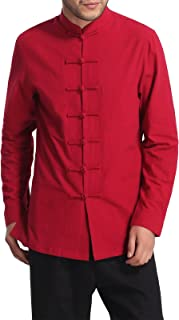 Men's Chinese Traditional Style Cotton Shirt