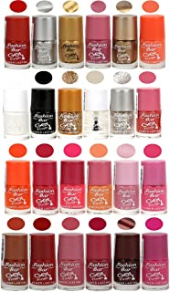 Fashion Bar Gel Style Nail Paint Pack Of 24 Combo