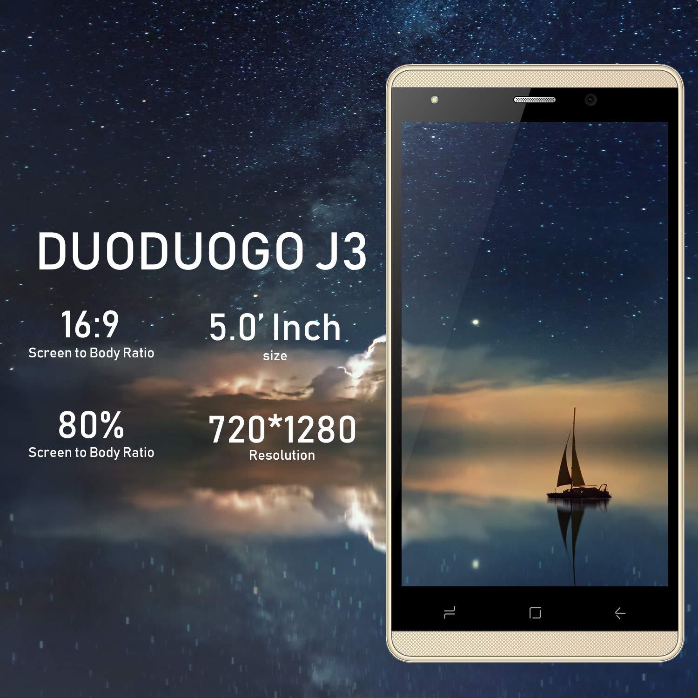 DUODUOGO J3 moviles Libres 4G 5 Pulgadas 32 GB 1GB RAM Smartphone ...
