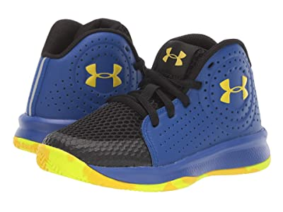 Under Armour Kids UA PS Jet 2019 (Little Kid) (Royal/Black/Taxi) Boys Shoes