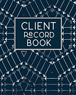 Client Record Book: Client Tracking Data Organizer Log Book with A - Z Alphabetical Tabs | Personal Client Profile Tracker Customer Information ... Organise | For Salons, Nail , Hair Stylists.