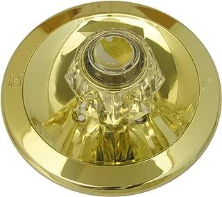 Simpatico 31651P Delta Trim Kit, Round Brass Tub Or Shower Escutcheon, Sleeve, Retainer Cap, Screws And Handle, Polished Brass