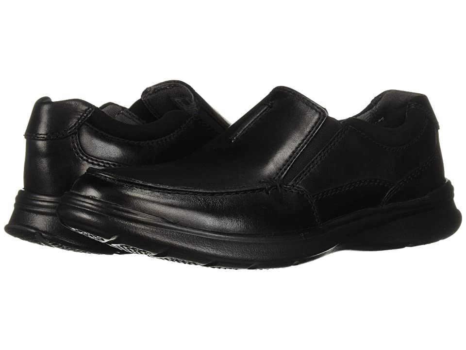 Clarks Cotrell Free (Black Smooth Leather) Men