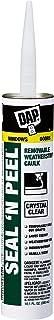 Dap 18324 Seal 'N Peel Removable Caulk, 10.1-Ounce