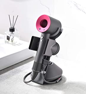 Dyson Hair Dryer Stand ,Dyson Blow Dryer Stand ,Hair Dryer Holder for Dyson Supersonic, Magnetic Stand Holder with Power P...
