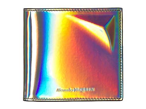 Alexander McQueen Iridescent Bifold Wallet