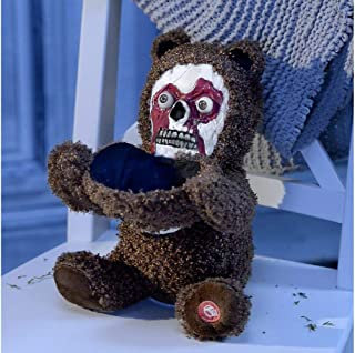 halloween teddy bear face