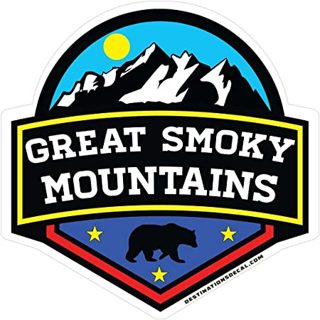 GT Graphics Tennessee Great Smoky Mountains Mount Leconte Vinyl Sticker Waterproof Decal
