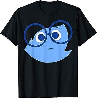 Disney Pixar Inside Out Sad Face Halloween Maglietta
