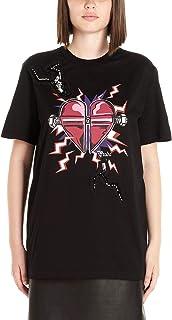 PRADA Women's 35838S162R1VAKF0ZCW Black Cotton T-Shirt