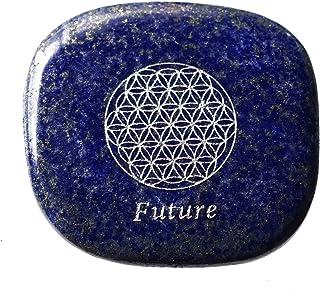 LUCAS ビジョンストーン (ラピスラズリ) フラワーオブライフ (Imagine イメージ/Future 未来)