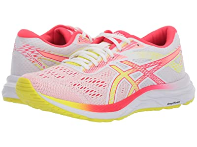 ASICS GEL-Excite(r) 6 (White/Sour Yuzu) Women
