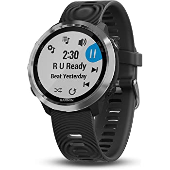 Garmin 010-01863-20 Reloj Inteligente Forerunner 645 Music, color Negro