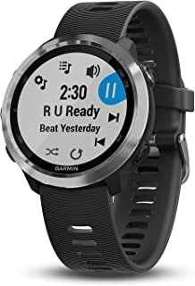 Garmin Forerunner 645 Music, GPS Running Watch with Pay Contactless Payments, Wrist-Based Heart Rate and Music, Black, 010...
