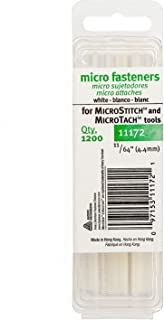 MicroStitch – #11172 4.4mm Fastener Refills for MicroStitch & MicroTach Tagging Tools (Refills, White)