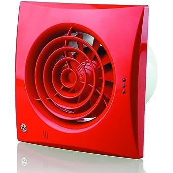 /Color blanco brillante Blauberg UK 150/QUIET TH 150/mm ventilador Extractor con humedad/