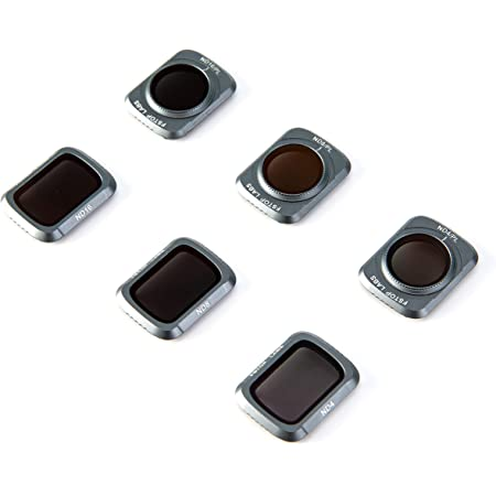 Fstop Labs Lens Filters for Mavic Air 2 Camera Lens Set, Multi Coated Filters Pack Accessories (6 Pack) ND4, ND8, ND16, ND4/CPL, ND8/CPL, ND16/CPL