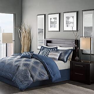 Madison Park Quinn Comforter Set Cal King Navy, California