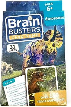Lot 3 Brain Busters Educational Trivia Card Game HUMAN BODY PETS /& OCEAN LIFE