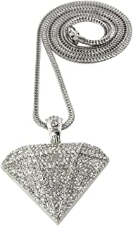 Hip Hop Jewels Iced Out Diamond Supply Co. Pendant Piece w/ 30
