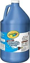 Crayola Washable Paint, Blue Paint, Classroom Supplies, 1 Gallon