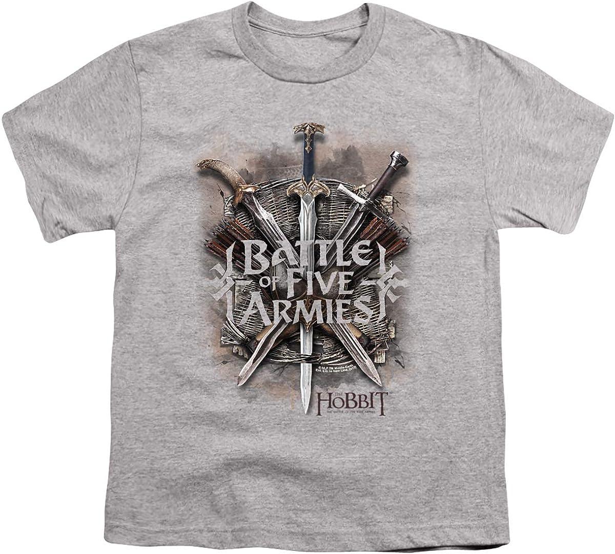 Hobbit Battle of Armies Unisex Youth T Shirt