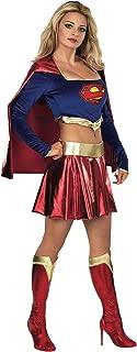 DC Comics Secret Wishes Deluxe Supergirl Adult Costume