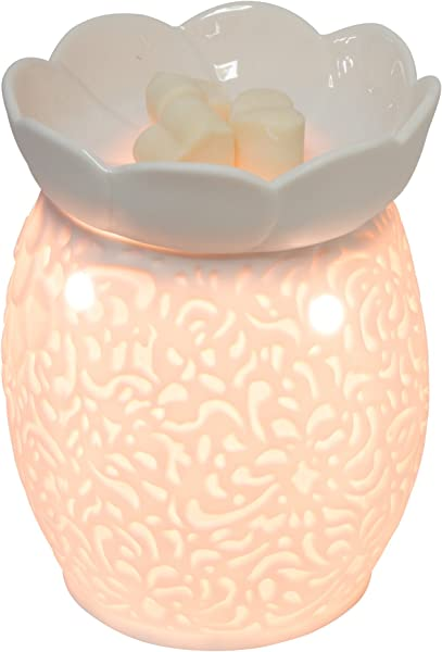 EVELINA Rose Of Paradise Table Top Scent Melt Warmer