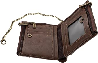 KESYOO Creative Hand Chain Money Credit Card Holder Men Wallet PU Leather Money Bag
