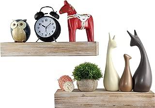 Best grey reclaimed wood shelves Reviews