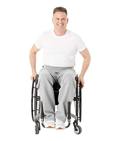 IZ Adaptive Seated Sweatpants (Grey) Men