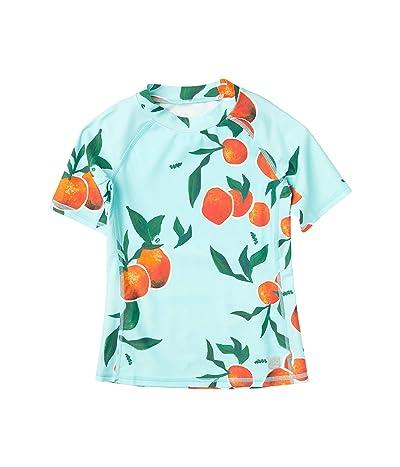 reima Swim Shirt Ionian (Toddler/Little Kids/Big Kids) (Light Turquoise) Girl