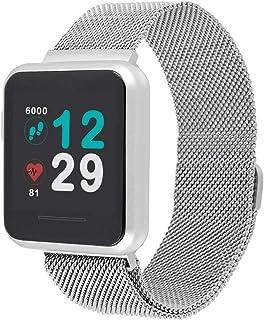 X-WATCH 54043 KETO SON REFLECT Smart Watch, Fitness Tracker, Pulsmätare, IP68 Vattentät, Batteri upp till 20 dagar, Androi...