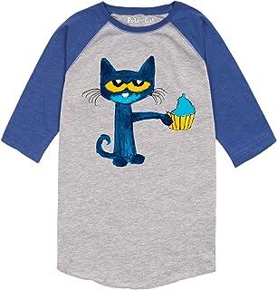 Pete the Cat Messy Cupcake -Toddler RAGLAN-3T