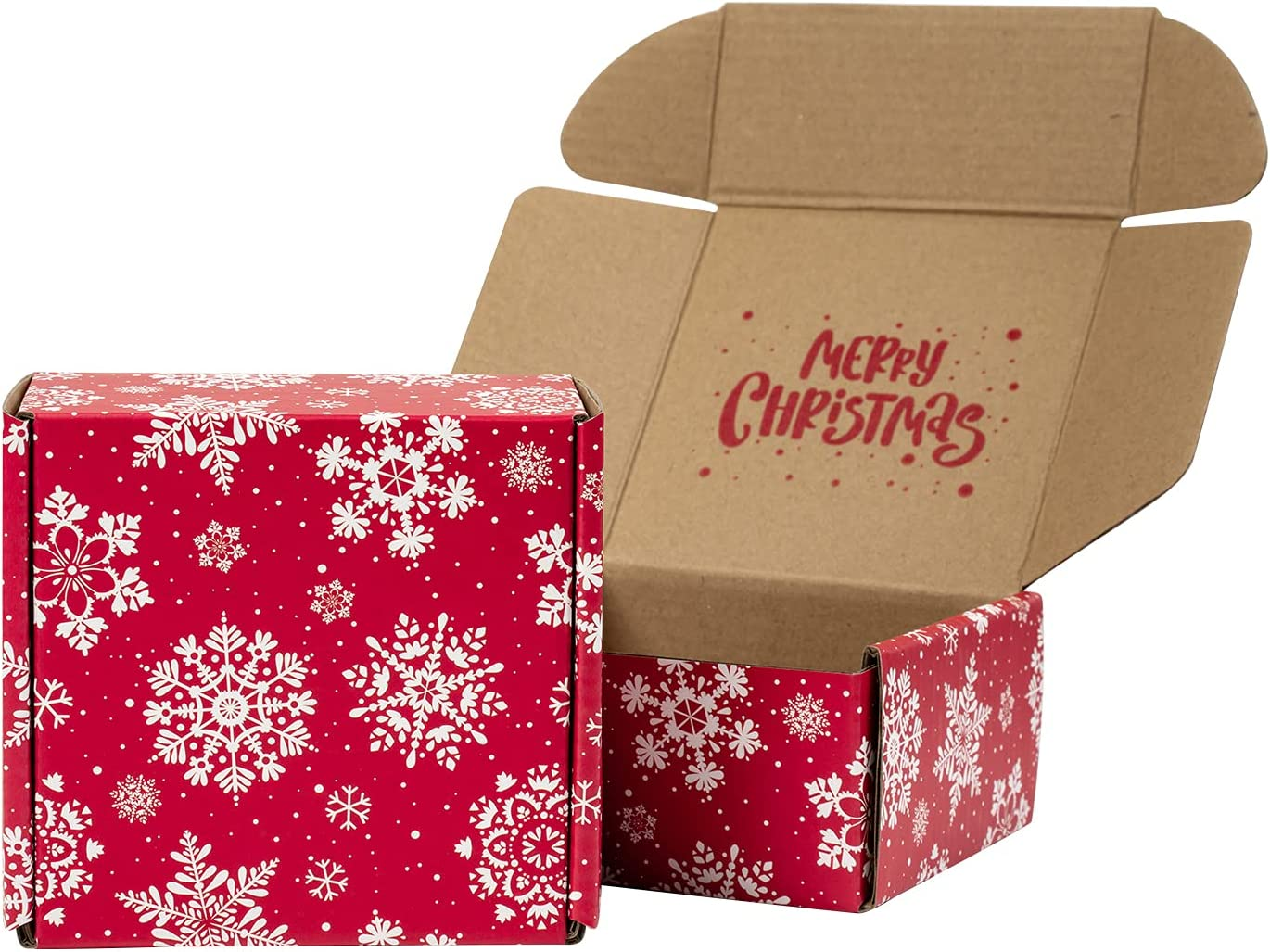 RUSPEPA Christmas Recyclable Corrugated Box Red - Mailers Tampa Mall Sale item Cardbo