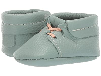 Freshly Picked Soft Sole Oxfords Boho (Infant/Toddler) (Sage) Boy